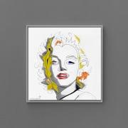 portrait of Marilyn Monroe by artist Gregory Beylerian
