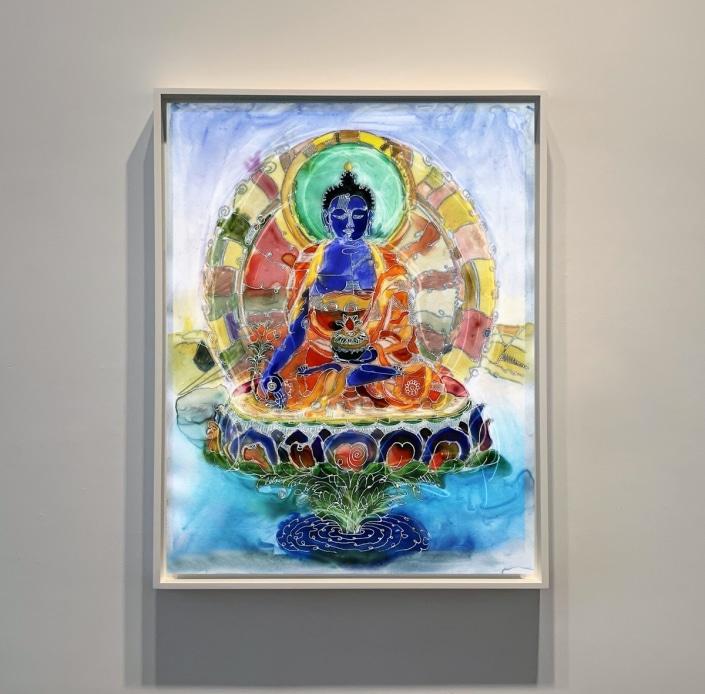medecine buddha art