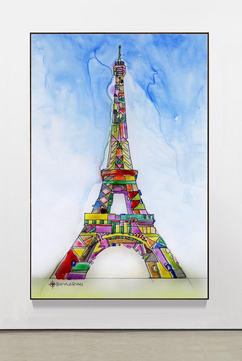 artwork of the Eiffel Tower
