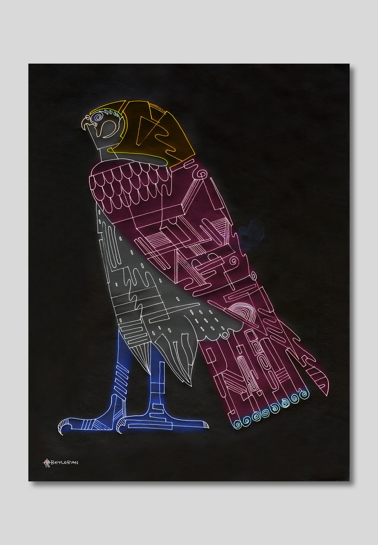 Falcon-portrait