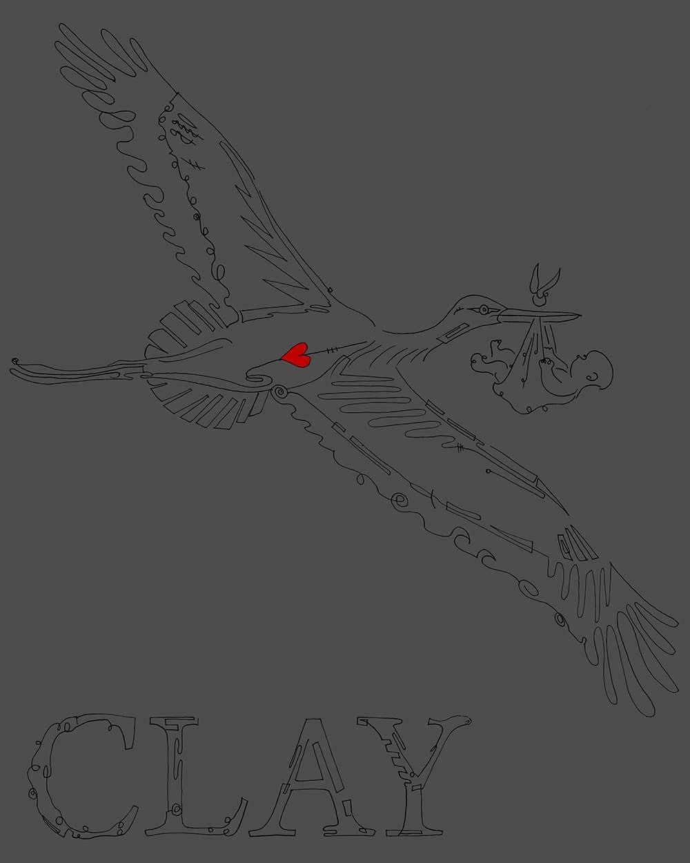Clay-Stork