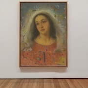 portrait of the virgin mary