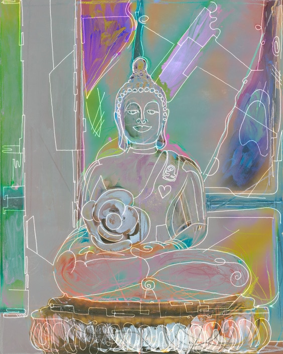 portrait of the Buddha