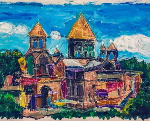 etchmiadzin Cathedral painting