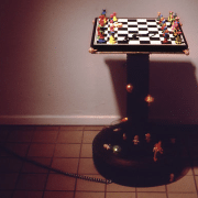 chess sculpture