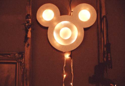disney wall lamp