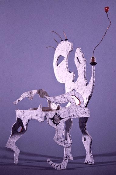 face chair sculpture