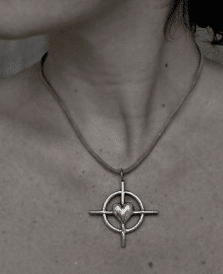 love and truth talisman necklace