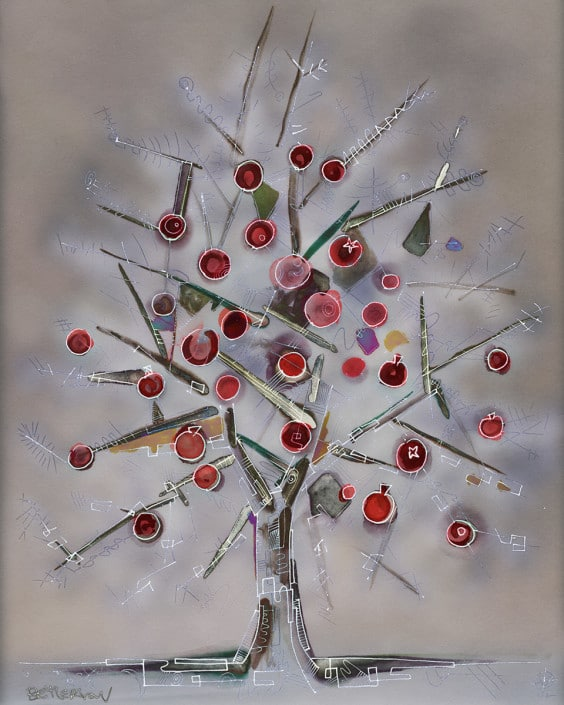 Pomegranate Tree Armenia Gregory Beylerian