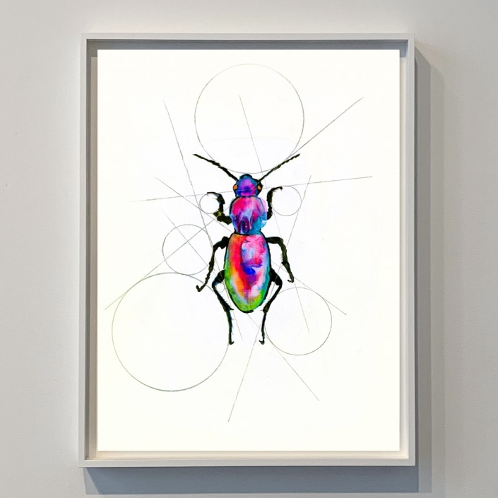 contemporary artwork of an ant by Gregory Beylerian
