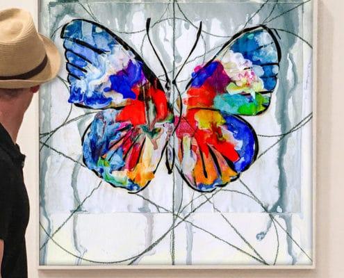 the butterfly effect art
