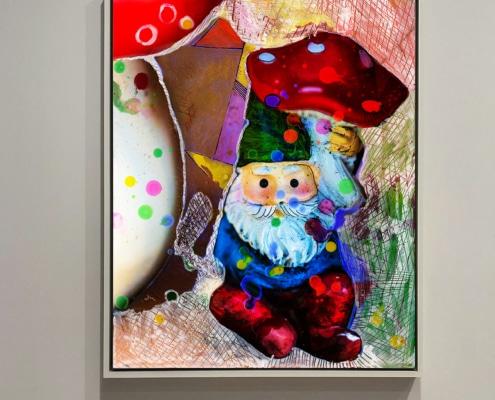 shroom god contemporary art