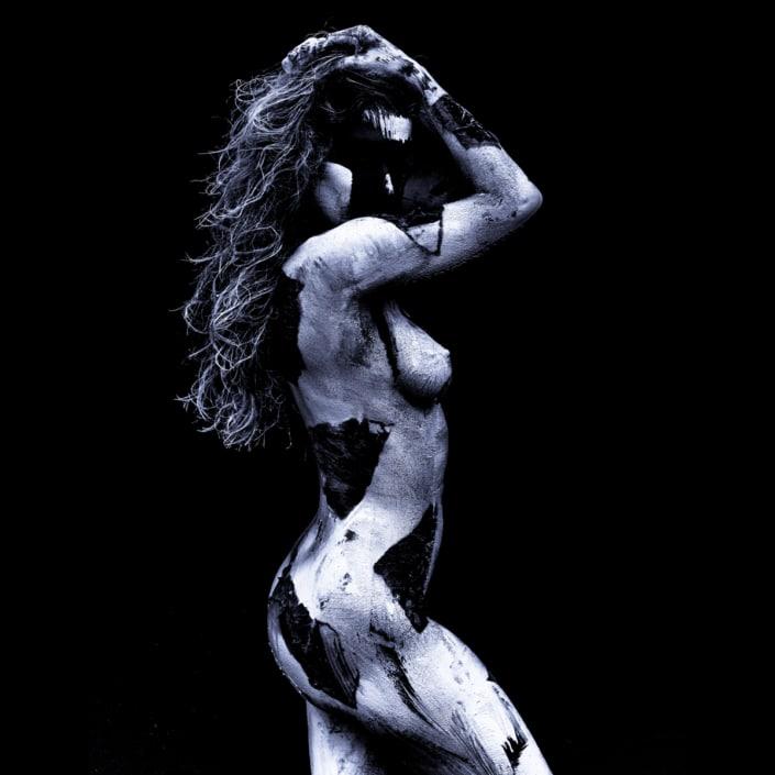 fine art painted nude