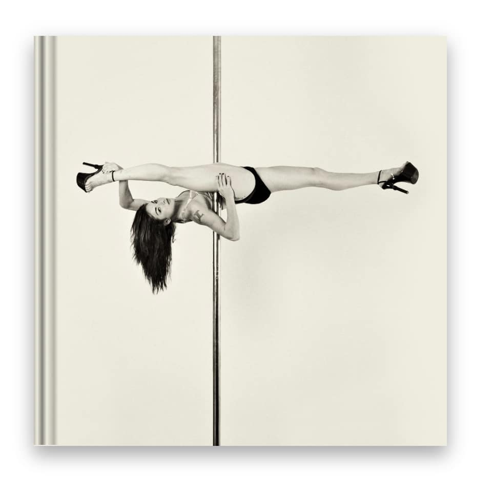 pole dance coffee table book