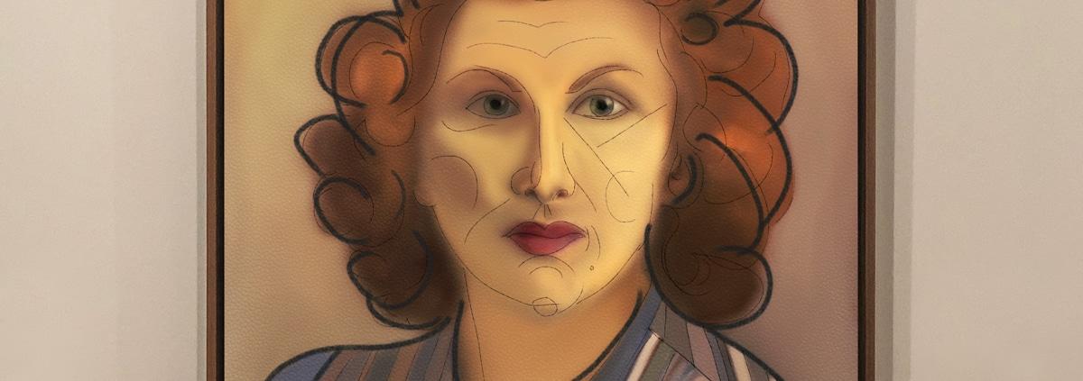 contemporary art portrait