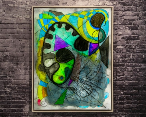 abstract art by gregory beylerian