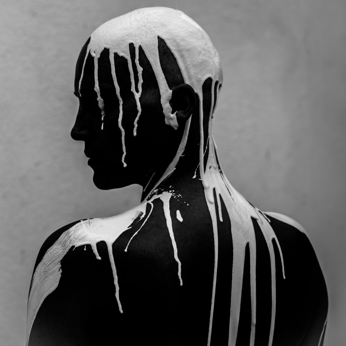 contemporary art portrait by gregory beylerian