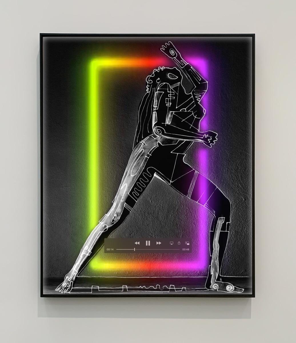 contemporary digital figurative artwork