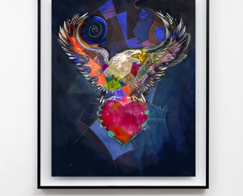 contemporary mixed media artwork by gregory beylerian