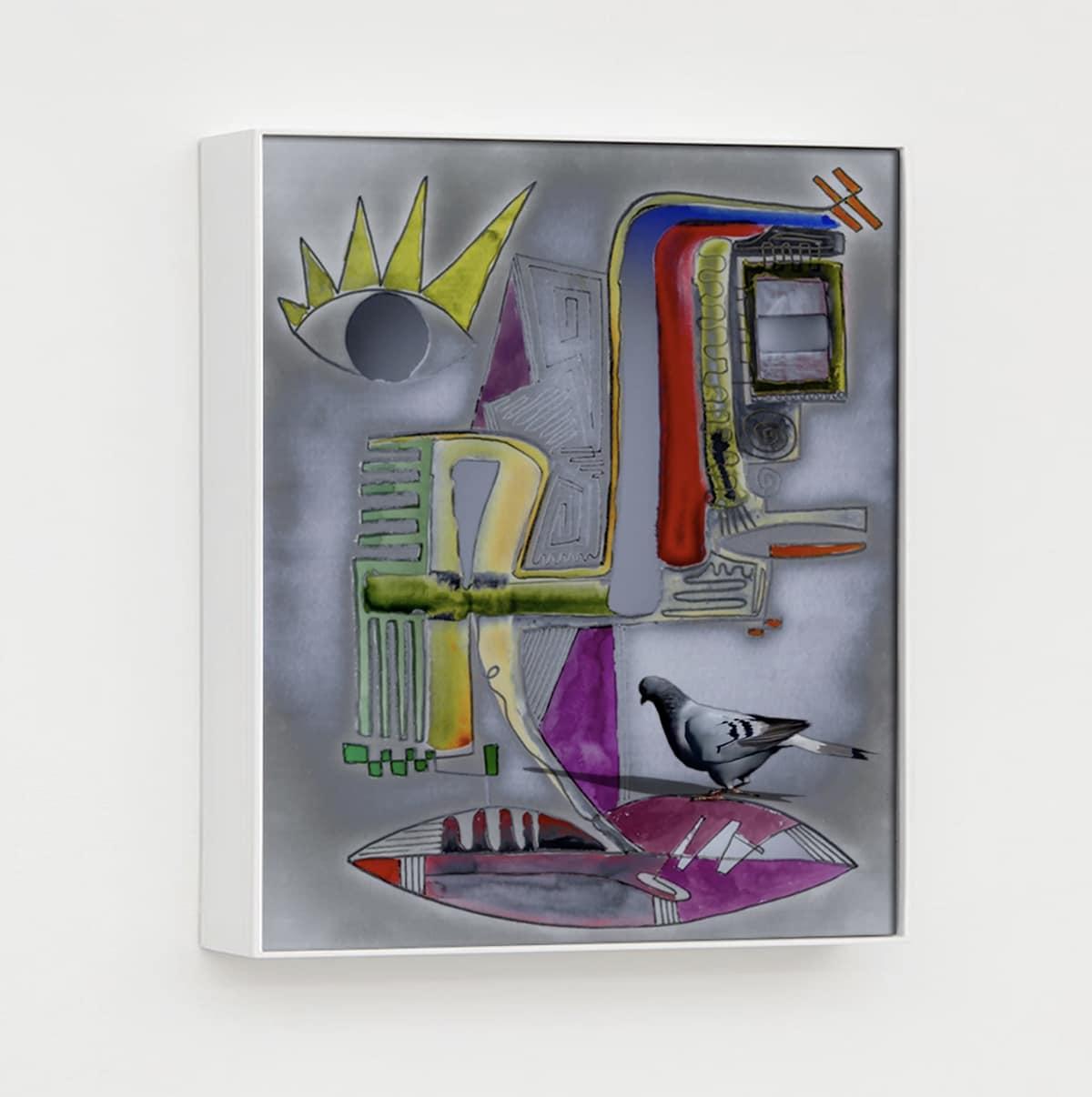contemporary mixed media art