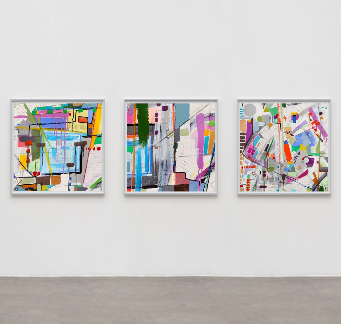 contemporary abstract paintings by gregory beylerian