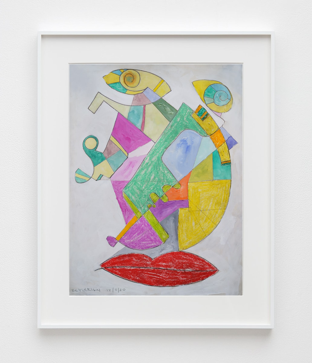contemporary abstract drawing