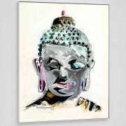 painting portrait of buddha
