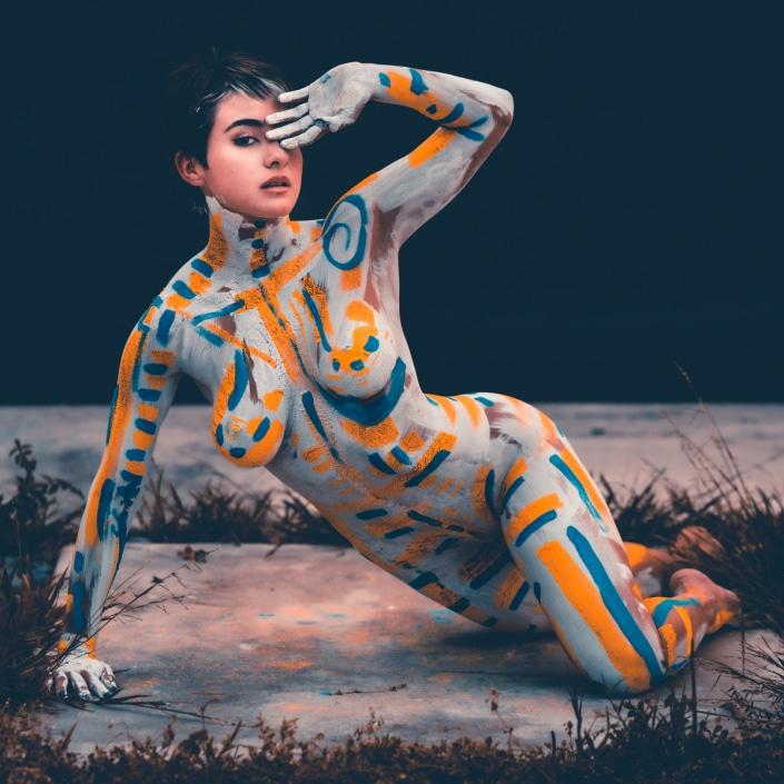 figurative art portrait